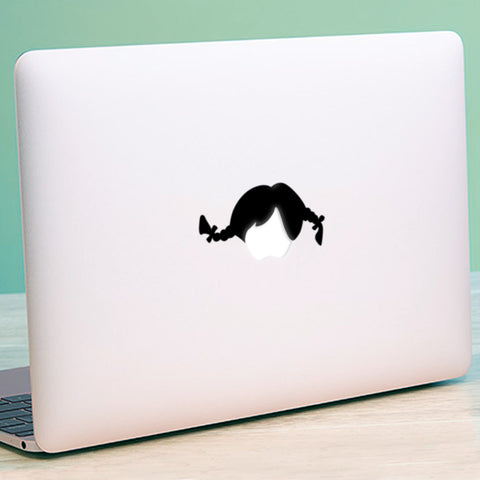 Pippi Longstocking Macbook Decal