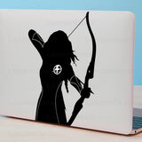 Hunger Games Katniss Macbook Decal