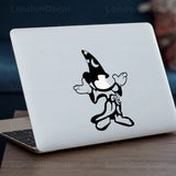 Mickey Fantasia Macbook Decal