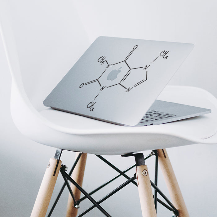 Coffee Chemical Formula Macbook Decal