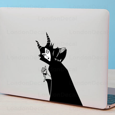 Maleficent Macbook Decal