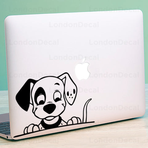 Dalmatian Macbook Decal