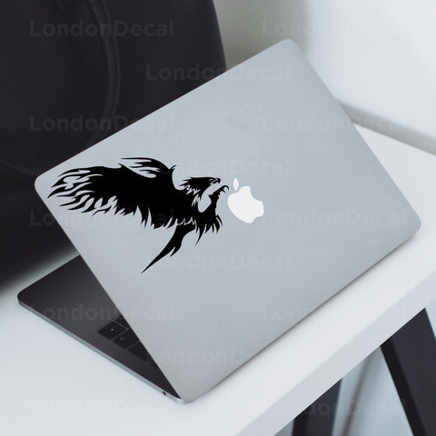 Bird of Prey Macbook Decal