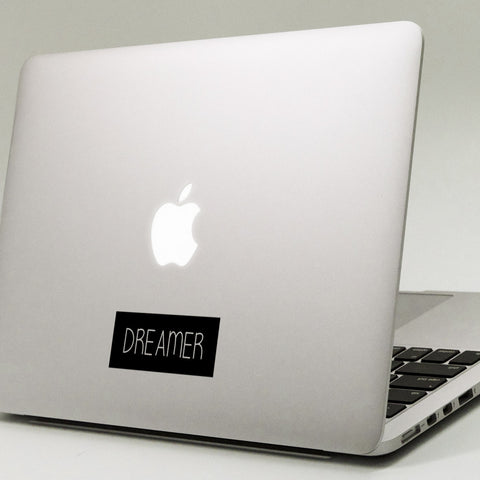 Dreamer Macbook Decal