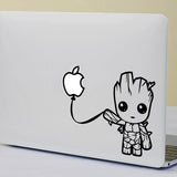 Baby Groot Macbook Decal