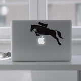 Horse Jumping Showjumper Macbook Decal