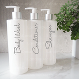 WHOLESALE - SHAMPOO, CONDITIONER AND BODY WASH - Mrs Hinch inspired bottle decal stickers
