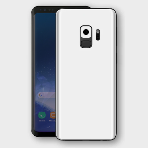 Samsung Galaxy S9 - Matt White Skin