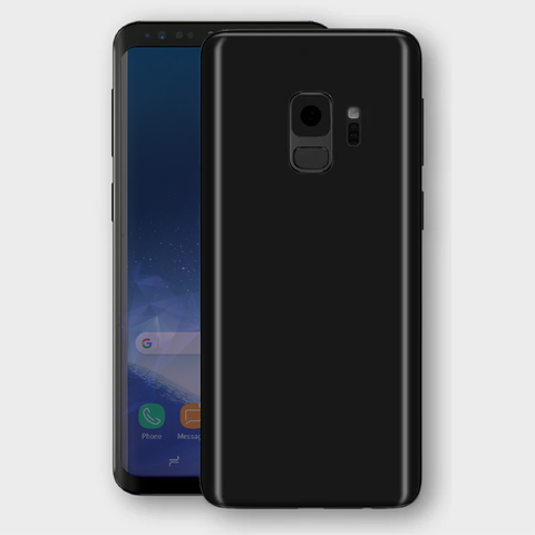 Samsung Galaxy S9 - Matt Black Skin