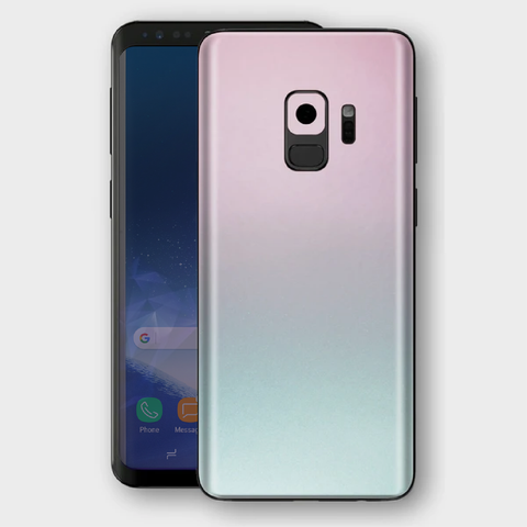 Samsung Galaxy S9 - Gloss Ghost Pearl Metallic (Chameleon Colourflow) Skin