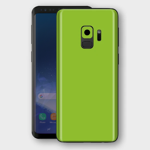Samsung Galaxy S9 - Matt Apple Green Skin
