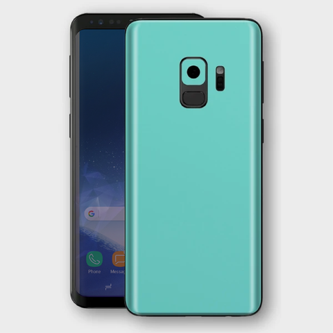 Samsung Galaxy S9 - Matt Mint Skin
