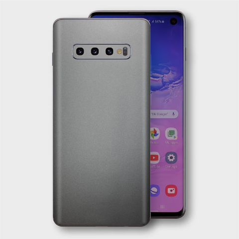 Samsung Galaxy S10+ Plus - Matt Space Grey Skin
