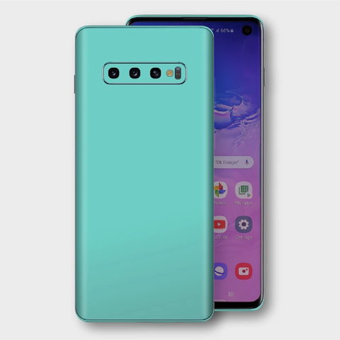 Samsung Galaxy S10+ Plus - Matt Mint Skin