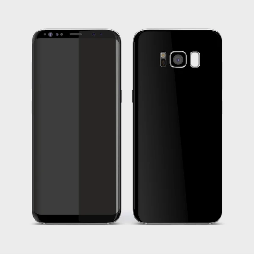 Samsung Galaxy S8 - Matt Black Skin