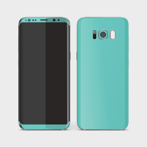 Samsung Galaxy S8+ Plus - Matt Mint Skin