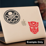 Iron Man Head Decal