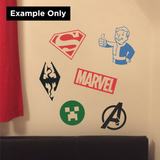 Lego Man Decal