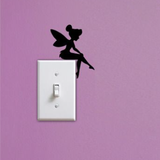 Tinkerbell Light Switch Wall Decal