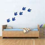 Dinosaur Footprint Wall Decal