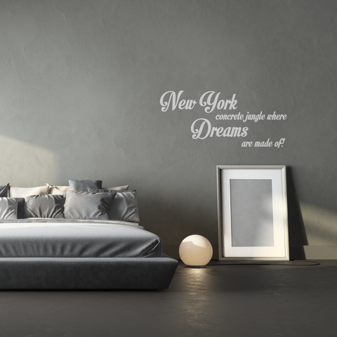 New York Wall Decal