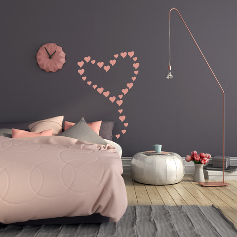 Kite Heart Wall Decal