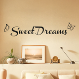Sweet Dreams Wall Decal