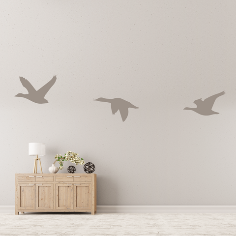 Flying Geese Wall Decal