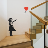Banksy Balloon Girl Wall Decal