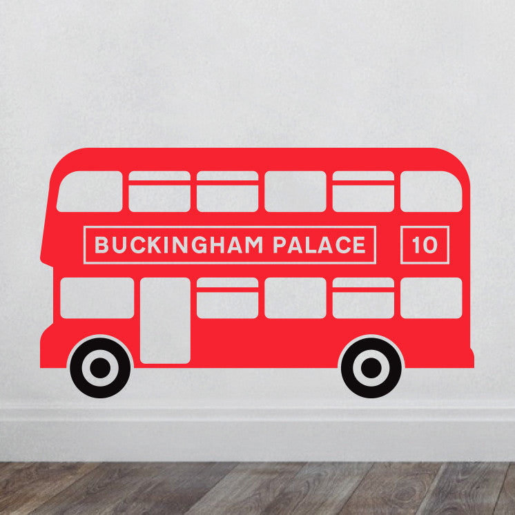 London Bus Wall Decal