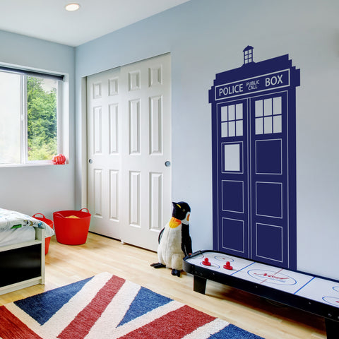 Dr Who Wall Decal