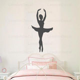 Ballerina Wall Decal - Type 1