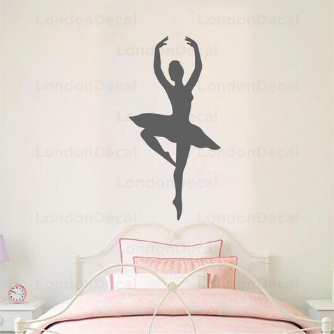 Ballerina Wall Decal - Type 2
