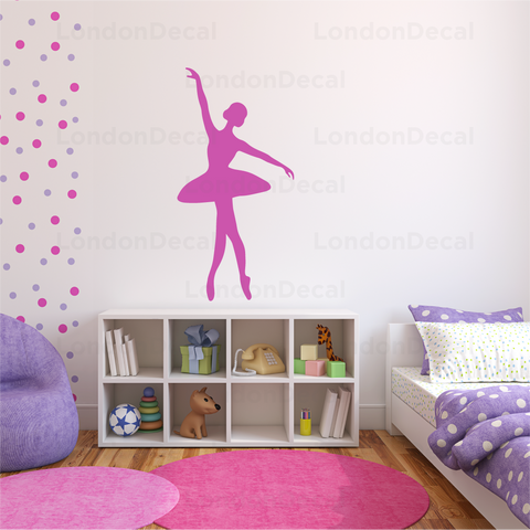 Ballerina Wall Decal - Type 3
