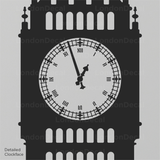 Big Ben Wall Decal