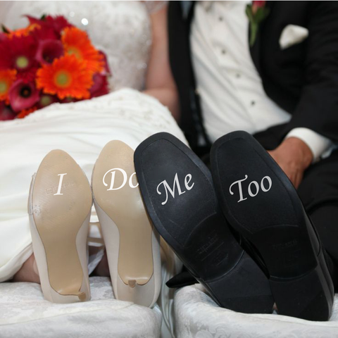 I Do Me Too Shoe Decals