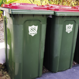 Wheelie Bin Decals - Shield