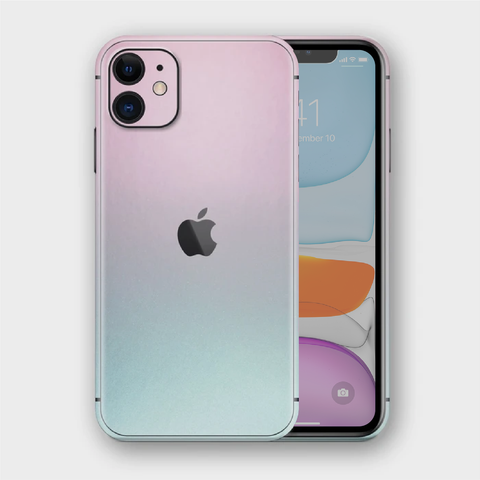 iPhone 11 - Gloss Ghost Pearl Metallic (Chameleon Colourflow) Skin