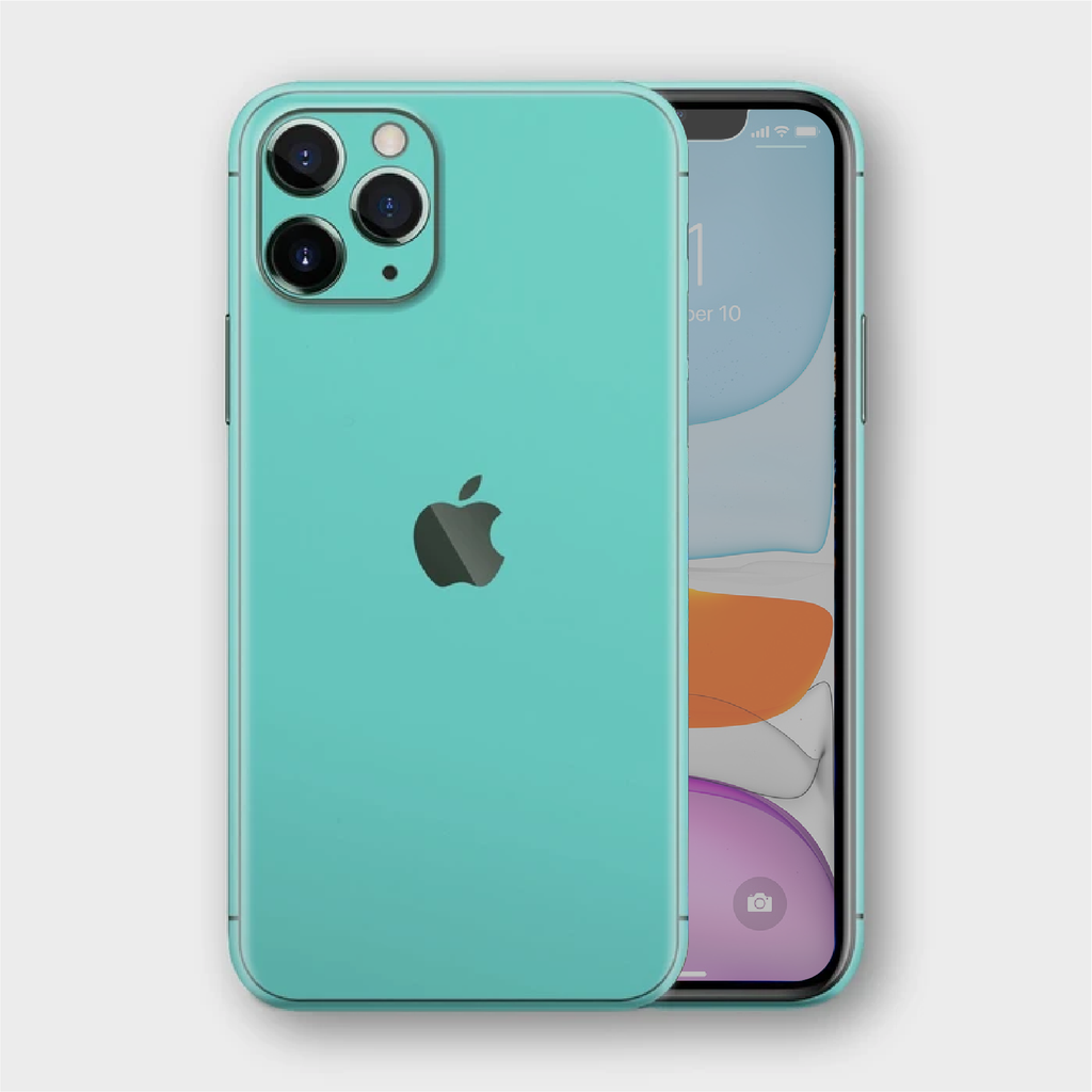 iPhone 11 Pro Max - Matt Mint Skin