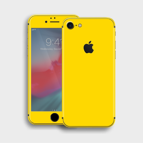 iPhone 8 - Gloss Lemon Yellow Skin