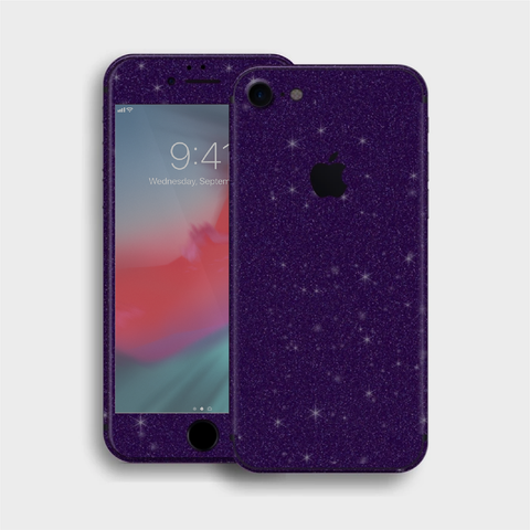 iPhone 8 - Gloss Diamond Dark Purple Skin