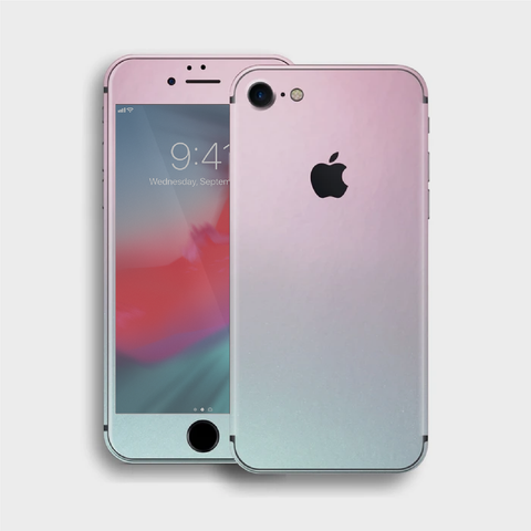 iPhone 8 - Gloss Ghost Pearl Metallic (Chameleon Colourflow) Skin
