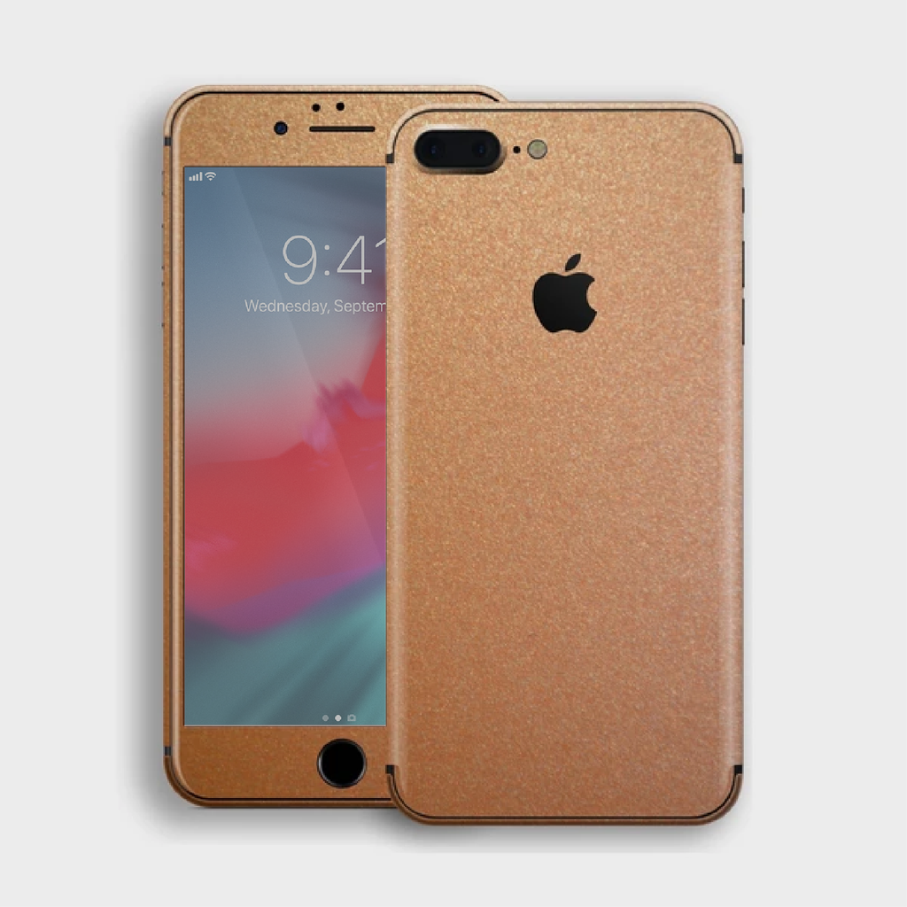 iPhone 8 Plus - Matt Copper Metallic Skin