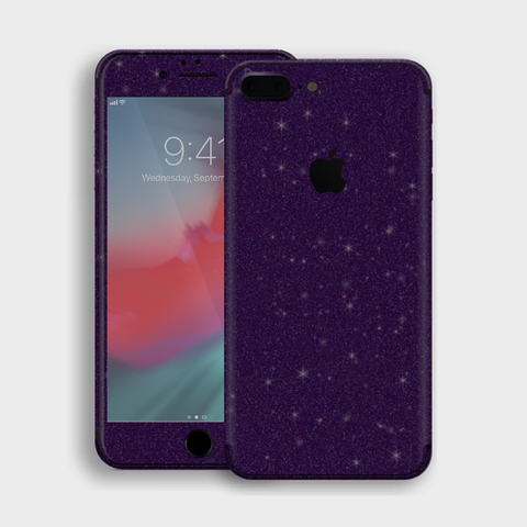 iPhone 8 Plus - Gloss Diamond Dark Purple Skin