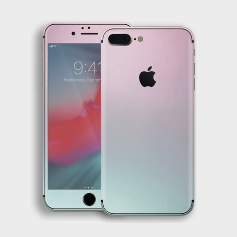 iPhone 8 Plus - Gloss Ghost Pearl Metallic (Chameleon Colourflow) Skin