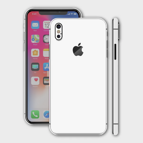 iPhone XS - Matt White Skin