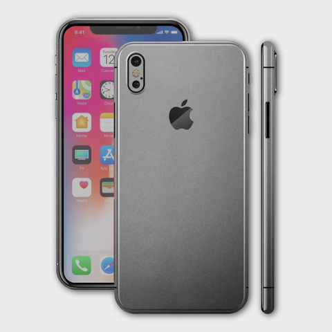 iPhone XS - Matt Space Grey Skin