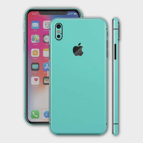 iPhone XS - Matt Mint Skin