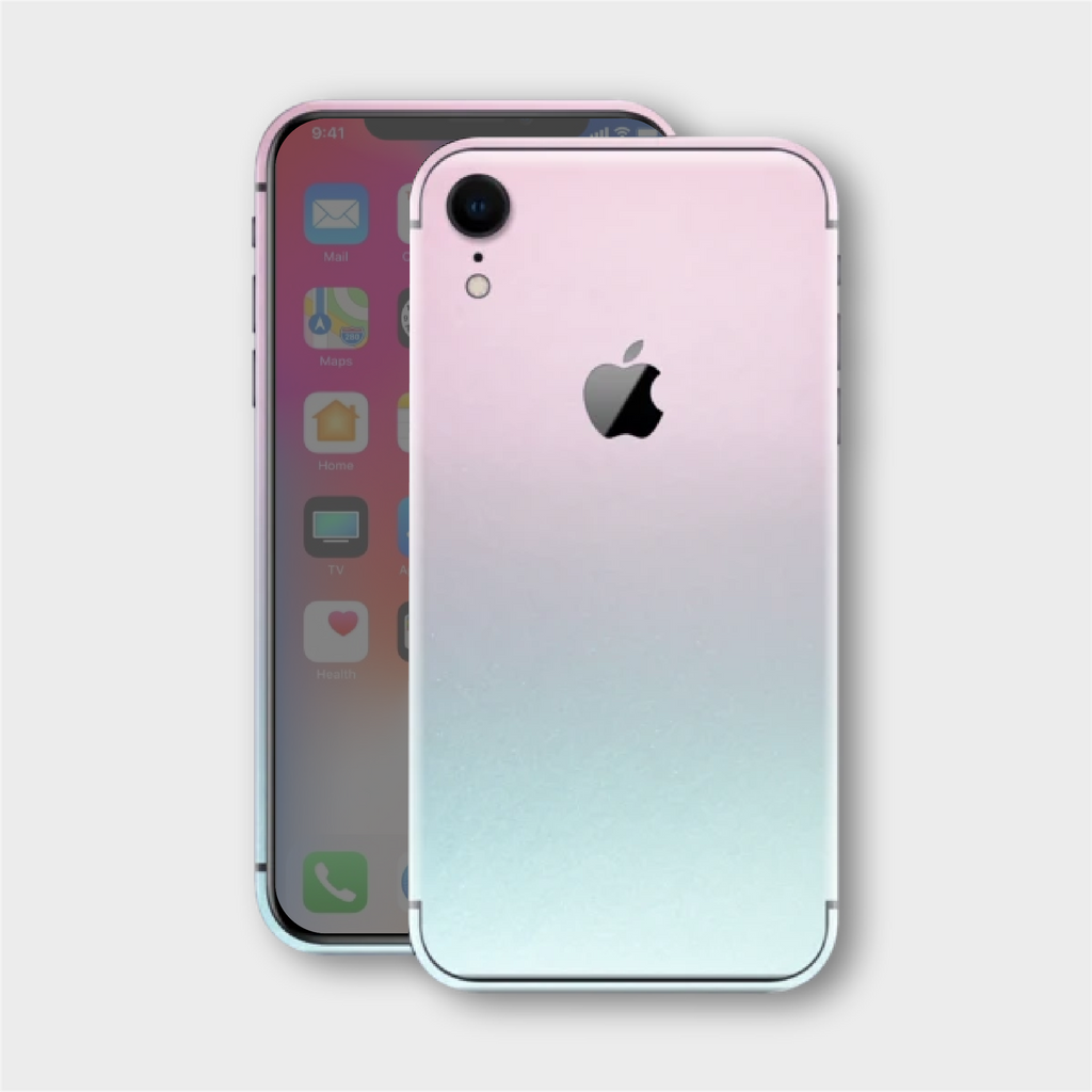 iPhone XR - Gloss Ghost Pearl Metallic (Chameleon Colourflow) Skin