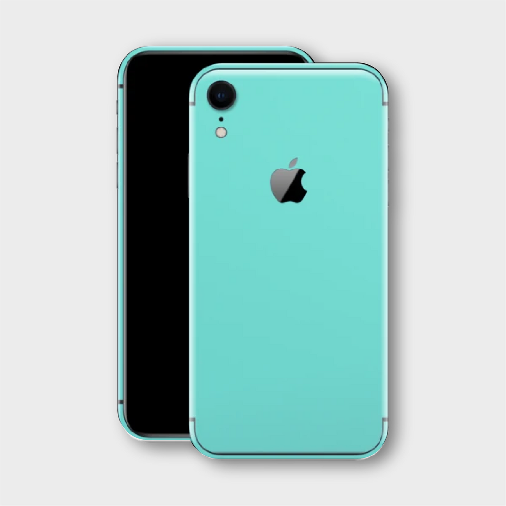 iPhone XR - Matt Mint Skin